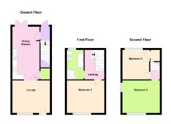 End Terrace House For Sale  Loughborough Leicestershire LE12