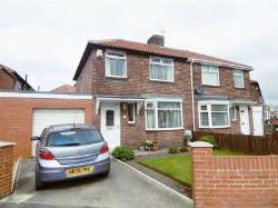 Semi Detached House For Sale Kings Estate Wallsend Tyne and Wear NE28