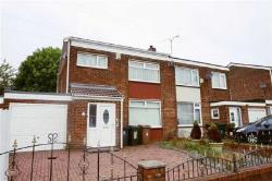 Semi Detached House For Sale Moor Park Estate North Shields Tyne and Wear NE29