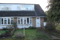 End Terrace House To Let  Woking Surrey GU21