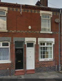 Terraced House To Let  STOKE ON TRENT Staffordshire ST1