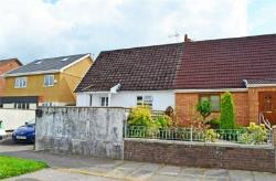 Semi - Detached Bungalow For Sale  Porth Rhondda CF39