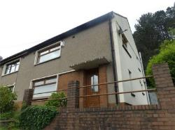 Semi Detached House For Sale  Tonypandy Rhondda CF40