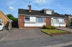 Semi - Detached Bungalow For Sale  Rugby Warwickshire CV22