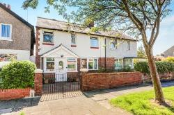 Semi Detached House For Sale Wellfield Whitley Bay Northumberland NE25
