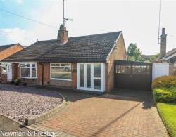 Semi - Detached Bungalow For Sale  Bedworth Warwickshire CV12