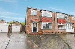 Semi Detached House For Sale  Unsworth Greater Manchester BL9