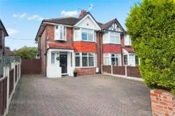 Semi Detached House For Sale  Glazebrook Greater Manchester WA3