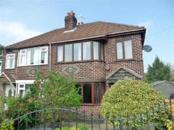 Semi Detached House To Let  Stockton Heath Cheshire WA4