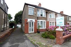 Semi Detached House To Let  Heath Glamorgan CF14