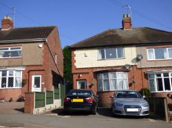 Semi Detached House For Sale  Hugglescote Leicestershire LE67