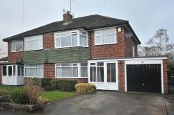 Semi Detached House For Sale  Kingston Road Cheshire SK9