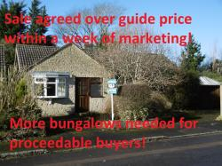 Detached Bungalow For Sale  Witney Oxfordshire OX29