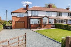 Semi Detached House For Sale Barthomley Crewe Cheshire CW2