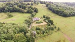 Detached House For Sale CWMCARVAN - 39 ACRES Monmouth Monmouthshire NP25