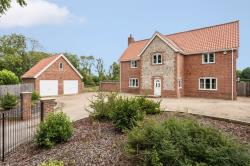 Detached House For Sale Bawdeswell Dereham Norfolk NR20