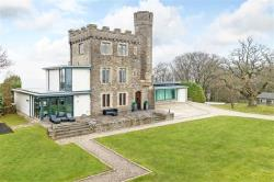 Detached House For Sale ABOVE VALE OF USK - 24 ACRES Newport Gwent NP18