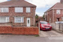 Semi Detached House For Sale Kirkby-in-ashfield Nottingham Nottinghamshire NG17