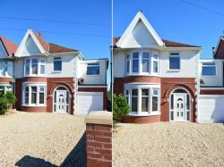 Semi Detached House For Sale Guildford Avenue Blackpool Lancashire FY2