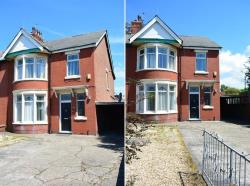 Semi Detached House For Sale Whitegate Drive Blackpool Lancashire FY3