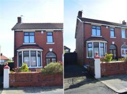 Semi Detached House For Sale Dutton Road Blackpool Lancashire FY3