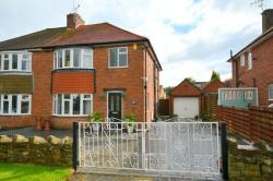 Semi Detached House For Sale Somersall Chesterfield Derbyshire S40