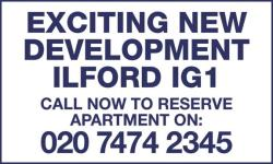 Flat For Sale Ilford Essex Essex IG1