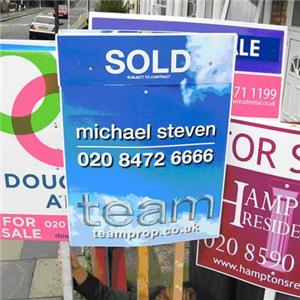 Property News - House sales 'down by a half'