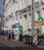 Property prices 'show slight rise'