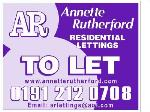 ANNETTE RUTHERFORD RESIDENTIAL LETTINGS NEWCASTLE UPON TYNE NE2  Estate and Letting Agents