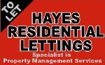 Hayes Residential Lettings Doncaster DN3  Estate and Letting Agents