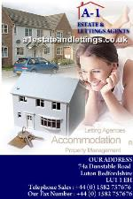 A1 Estate and Letting Agents Luton  LU1  Estate and Letting Agents