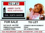 ABBEY GATE REAL ESTATES LTD Coventry CV6  Estate and Letting Agents