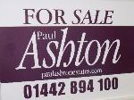 Paul Ashton Estates Hemel Hempstead HP1  Estate and Letting Agents