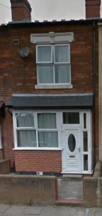 Terraced House To Let  Handsworth Wood West Midlands B20